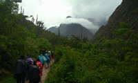 The Inca trail, Cusco